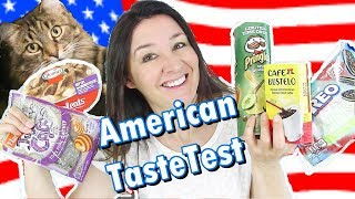 American Tastes Test and Cats on Catnip