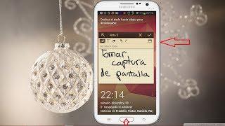 Tres formas de Cómo hacer una captura de pantalla en tu Galaxy Note II (Screen Shot)