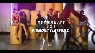 Harmonaiz ft diamond platnumz-kwangwaru(official music video).Hd