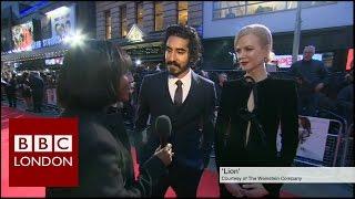 London Film Festival: Dev Patel and Nicole Kidman - BBC London News