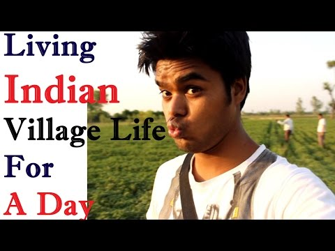 Joy of Living a Village Life for One day in Uttar Pradesh India