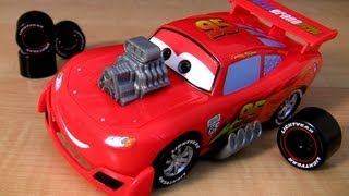 Gear Up and Go Lightning McQueen Buildable toys Cars 2 Ultimate Review Disney Pixar Blucollection
