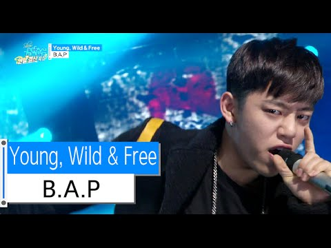 Xxx Mp4 HOT B A P Young Wild Free 비에이피 영 와일드 앤 프리 Show Music Core 20151226 3gp Sex