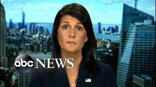 'GMA' Hot List: Nikki Haley says North Korea does 'not need to be a nuclear power'