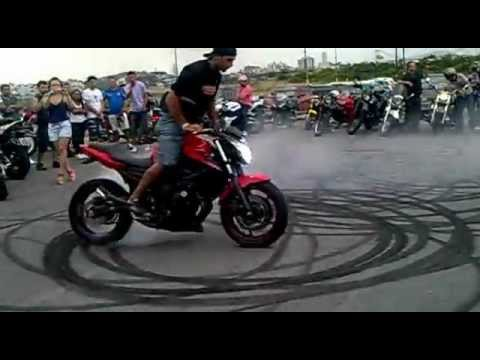 Zerinho Yamaha XJ6 no Floripa MotoShow 2012