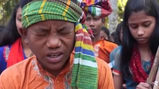 Bangladeshi small young boy singing song by lalan fakir