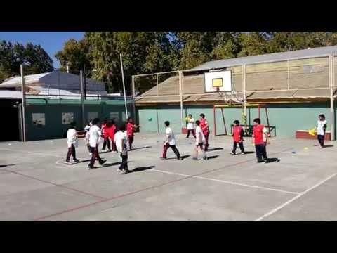 Juegos Educación Física Pases Y Goles