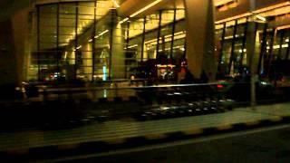 Delhi, road to airport
