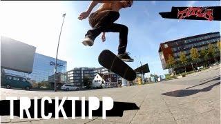 How to Nollie Kickflip - einfach und schnell Skateboard Tricks lernen (deutsch/german)
