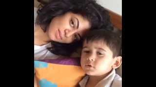 Kavita Kaushik dubsmash compilation with a cute boy rishi and her Friends