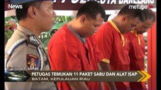 Guru dan Pegawai Lapas Anak Terciduk Pesta Sabu, Polisi Temukan 11 Paket Sabu - Police Line 15/07