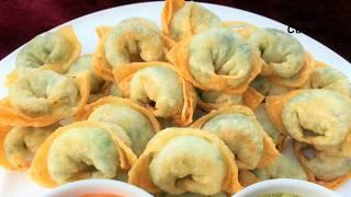Fried Dumplings  Afghani Fried Ashak Recipe  آشک سرخ کرده Veg Dumpling Recipe ,Appetizer recipe