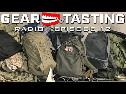 Bags, Packs and Satchels, Oh My! - Gear Tasting Radio Episode 12