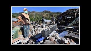 Séisme en Indonésie : plus de 300 personnes tuées dans la catastrophe