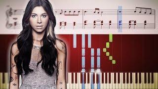 Christina Perri - A Thousand Years - EASY Piano Tutorial + Sheets