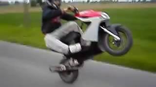 Yamaha Aerox Mbk Nitro Roller  High End Wheelie Yasuni Fun