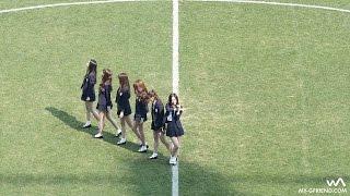 160326 여자친구(GFRIEND) - 시간을 달려서 (Rough) @대전시티즌 개막전 안무 직캠/Fancam by -wA-