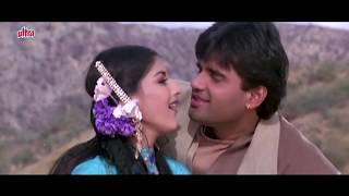 pc mobile Download Kajal Kajal Teri Aankhon Ka - Sonali Bendre, Sunil Shetty, Sapoot, Romantic Song
