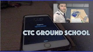 A day at CTC (Ground School)