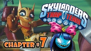 Let's Play Skylanders TRAP TEAM - Monster Marsh Chapter 7 with Swap Force!