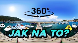360° video - Jak na to? Jak to funguje?