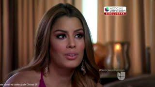 UNIVISION habla en Exclusiva con Ariadna Gutierrez tras el Insolito ''Error'' del Miss Universo