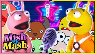 Mish & Mash | Musical Moon! | Episode 7 | Puppet Show For Kids | Wildbrain Happy Kids