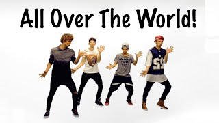 The Fooo Conspiracy - ALL OVER THE WORLD Dance TUTORIAL