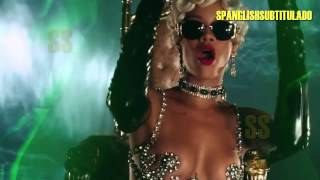 Rihanna - Pour It Up (Lyrics - Sub. En Español)