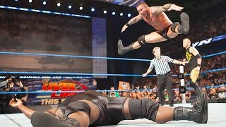 Randy Orton's toe-touch split RKO celebration: SmackDown, May 20, 2011