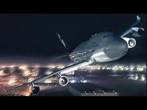 Flying a Boeing 747 In Flames UPS Airlines Flight 6 P3D