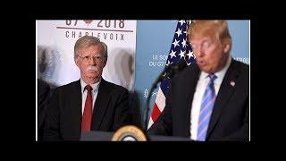 News John Bolton is arranging a Trump-Putin meeting. Here