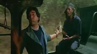 Sholey Movie Scenes || Daku Attack on train