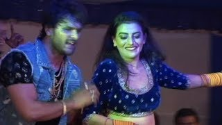 Khesari Lal  Anjana singh  Ka New Stage Show Best Khesari lal Songs on the stage