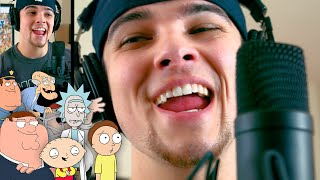 Adele - Hello (Sung in Cartoon Voices)   Mikey Bolts