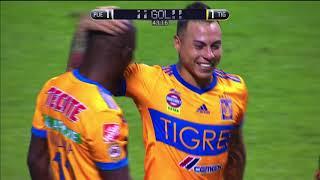 Puebla 2-1 Tigres   Clausura 2018 - Jornada 1