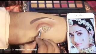 Anurag makeup mantra.... 3D eye makeup technique.. Of..aishwarya rai  jodha Akbar......