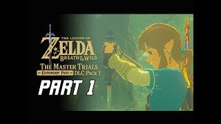 Legend of Zelda Breath of the Wild Walkthrough Part 1 - Trial of the Sword (Expansion DLC)