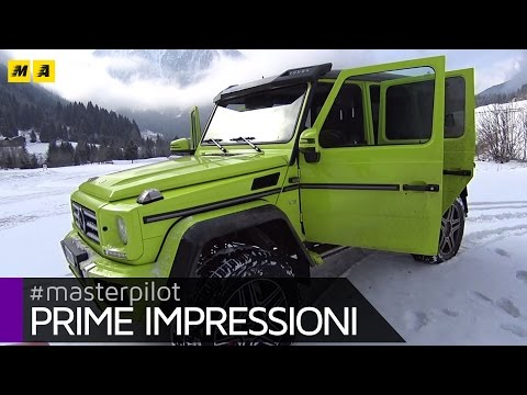 Mercedes Classe G 4x4² Prime impressioni