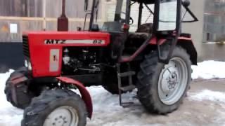 Трактор МТЗ 82. Экспортный вариант!