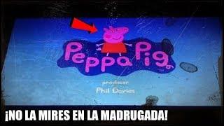 NO DEBES VER PEPPA PIG En La MADRUGADA | MIRA LO QUE LE SUCEDIO A ESTA CHICA