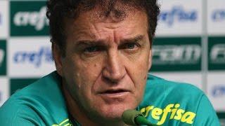 Coletiva do professor Cuca - Palmeiras 2 x 1 Sport