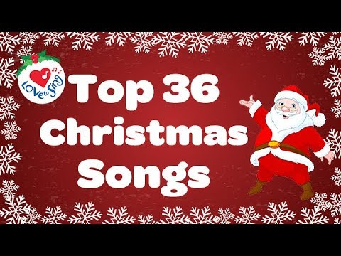 Top 36 Popular Christmas Songs and Carols Playlist 2016 🎅