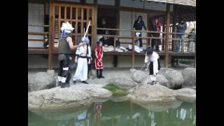 Cosplay Mansion Combats Jardin Japonais Partie 1