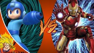 MEGA MAN vs IRON MAN! Cartoon Fight Club Episode 70 REACTION!!!