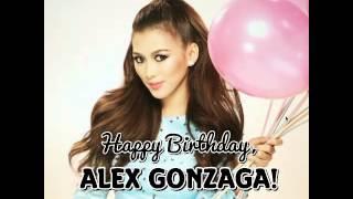 VG for Alex Gonzaga's Birthday