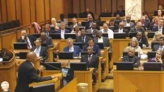 """WATCH Jacob Zuma """"Lying"""" About Grace Mugabe Immunity. Parliament"""
