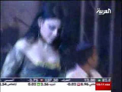 Haifa Wehbe concert in Beirut May 26 2008 Al Arabiya TV