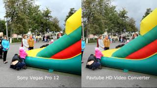 Sony Vegas Pro 12 vs Pavtube HD Video Converter