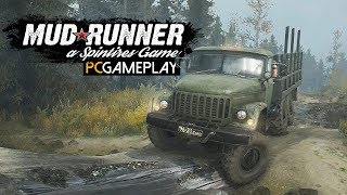 Spintires: MudRunner Gameplay (PC HD)